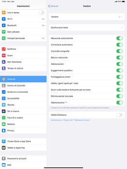 Apple iPad Pro 12.9 (1st gen) - ipados 13 - Operazioni iniziali - Come aggiungere una lingua alla tastiera - Fase 5