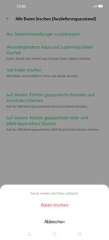 Oppo Find X2 - Gerät - Zurücksetzen auf die Werkseinstellungen - Schritt 8