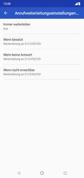 Nokia 6.1 Plus - Anrufe - Rufumleitungen setzen und löschen - Schritt 11