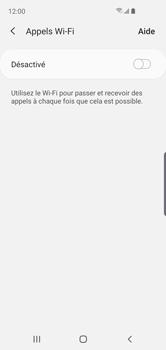 Samsung Galaxy S10e - WiFi - Activez WiFi Calling - Étape 7