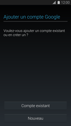 Samsung G900F Galaxy S5 - Applications - Créer un compte - Étape 4