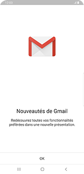 Samsung Galaxy Note9 - Android Pie - E-mail - 032a. Email wizard - Gmail - Étape 4