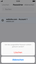 Apple iPhone SE - iOS 11 - Anmeldedaten hinzufügen/entfernen - 12 / 13