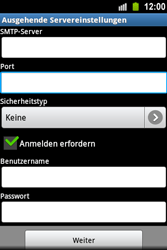 Samsung S5830 Galaxy Ace - E-Mail - Konto einrichten - Schritt 13