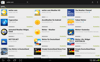 Samsung Galaxy Note 10-1 - Apps - Herunterladen - 12 / 22