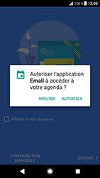 Sony Xperia XZ (F8331) - Android Oreo - E-mail - Configuration manuelle (outlook) - Étape 12