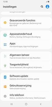 Samsung Galaxy S8+ - Android Pie (SM-G955F) - Instellingen aanpassen - Fabrieksinstellingen terugzetten - Stap 4