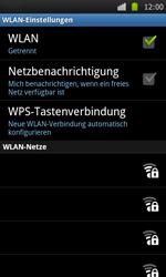 Samsung Galaxy S - WLAN - Manuelle Konfiguration - 7 / 10