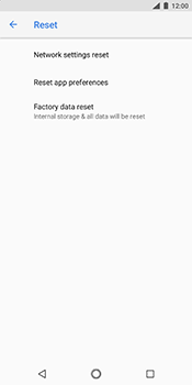 Nokia 7 Plus - Device - Factory reset - Step 7