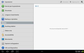 Samsung Galaxy Tab 2 10.1 - Dispositivo - Ripristino delle impostazioni originali - Fase 5