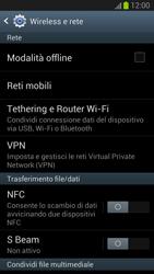 Samsung Galaxy S III - Internet e roaming dati - Disattivazione del roaming dati - Fase 5