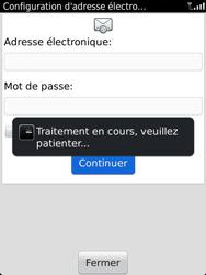 BlackBerry 9810 Torch - E-mail - Configuration manuelle - Étape 9