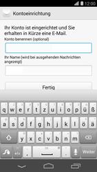 Huawei Ascend P7 - E-Mail - Konto einrichten - Schritt 20