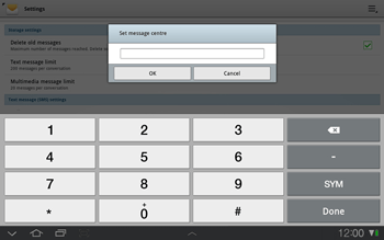 Samsung P7500 Galaxy Tab 10-1 - SMS - Manual configuration - Step 6