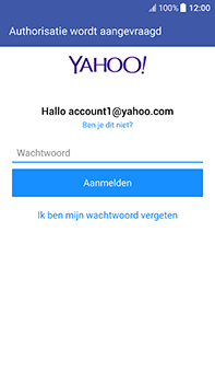 HTC U11 - E-mail - handmatig instellen (yahoo) - Stap 8