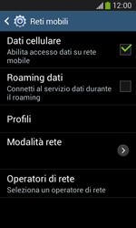 Samsung Galaxy Ace III - Internet e roaming dati - Configurazione manuale - Fase 6