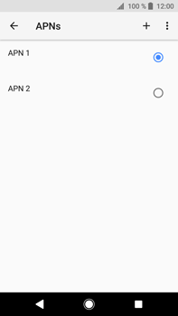 Sony Xperia XA2 Ultra - Internet - Apn-Einstellungen - 2 / 2