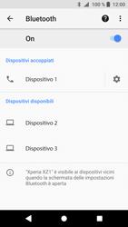 Sony Xperia XZ1 - Bluetooth - Collegamento dei dispositivi - Fase 9