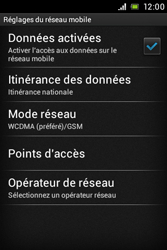 Sony ST21i Xperia Tipo - Internet - Configuration manuelle - Étape 8