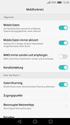 Huawei Honor 8 - Ausland - Auslandskosten vermeiden - Schritt 8