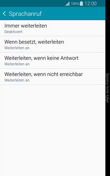 Samsung Galaxy Note Edge - Anrufe - Rufumleitungen setzen und löschen - 2 / 2