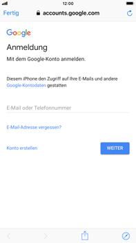 Apple iPhone 8 Plus - iOS 12 - E-Mail - Konto einrichten (gmail) - Schritt 6