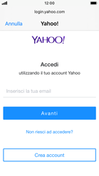 Apple iPhone SE - iOS 13 - E-mail - 032b. Email wizard - Yahoo - Fase 6