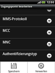 HTC A3333 Wildfire - MMS - Manuelle Konfiguration - Schritt 13