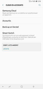 Samsung Galaxy A6 Plus - toestel resetten - back-up maken met jouw account - stap 7