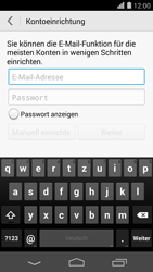 Huawei Ascend P7 - E-Mail - Konto einrichten (outlook) - 2 / 2