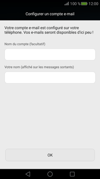 Huawei Mate S - E-mail - Configuration manuelle - Étape 19