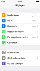 Apple iPhone 5s iOS 8 - Bluetooth - Jumelage d
