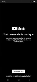 Samsung Galaxy A41 - Photos, vidéos, musique - Ecouter de la musique - Étape 4