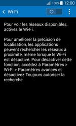 Samsung G357 Galaxy Ace 4 - Wi-Fi - Accéder au réseau Wi-Fi - Étape 5