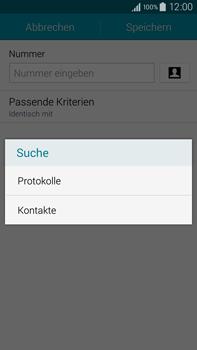 Samsung Galaxy Note 4 - Anrufe - Anrufe blockieren - 0 / 0