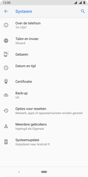 Nokia 9 - Toestel - Software update - Stap 7
