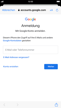 Apple iPhone 7 Plus - iOS 14 - E-Mail - 032a. Email wizard - Gmail - Schritt 7