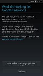 Samsung Galaxy A5 - Apps - Konto anlegen und einrichten - 12 / 22