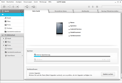 LG G3 - Software - Eine Sicherungskopie des Geräts erstellen - Schritt 6