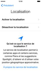 Apple iPhone 5 (iOS 8) - Premiers pas - Créer un compte - Étape 10