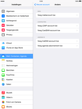 Apple iPad mini retina iOS 8 - E-mail - Account instellen (POP3 met SMTP-verificatie) - Stap 6