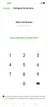 Oppo Find X2 Neo - Sécuriser votre mobile - Activer le code de verrouillage - Étape 7