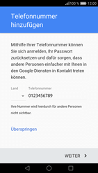 Huawei P9 Lite - Apps - Konto anlegen und einrichten - 13 / 21