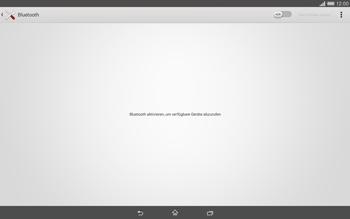 Sony Xperia Tablet Z2 LTE - Bluetooth - Geräte koppeln - 0 / 0