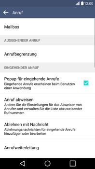 LG G4 - Anrufe - Anrufe blockieren - 1 / 1