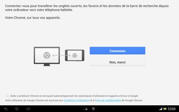 Sony SGP321 Xperia Tablet Z LTE - Internet - navigation sur Internet - Étape 3