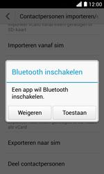 Huawei Ascend Y330 - Contacten en data - Contacten overzetten via Bluetooth - Stap 9