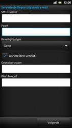 Sony LT22i Xperia P - E-mail - Handmatig instellen - Stap 12