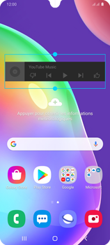 Samsung Galaxy A31 - Applications - Personnaliser l