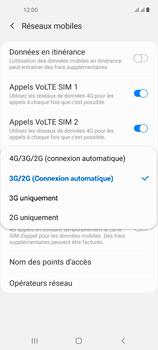 Samsung Galaxy A21s - Internet et connexion - Activer la 4G - Étape 7